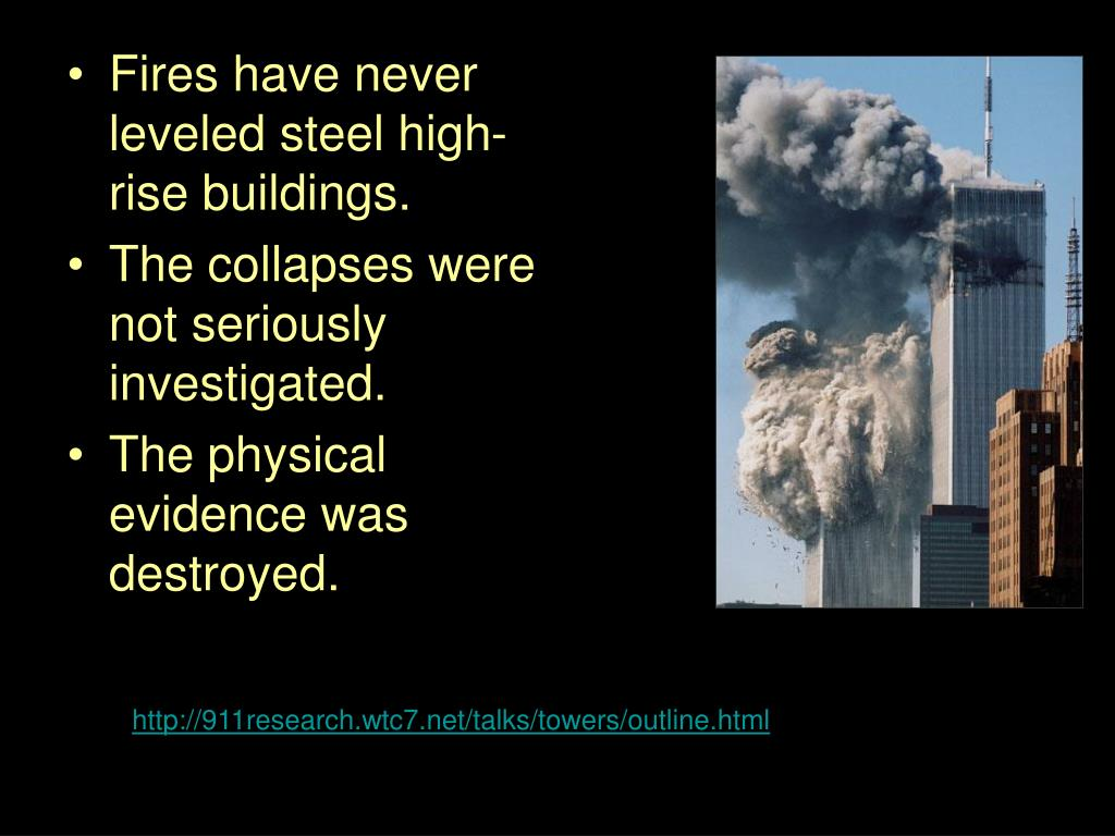 Fires have never leveled steel high-rise buildings.