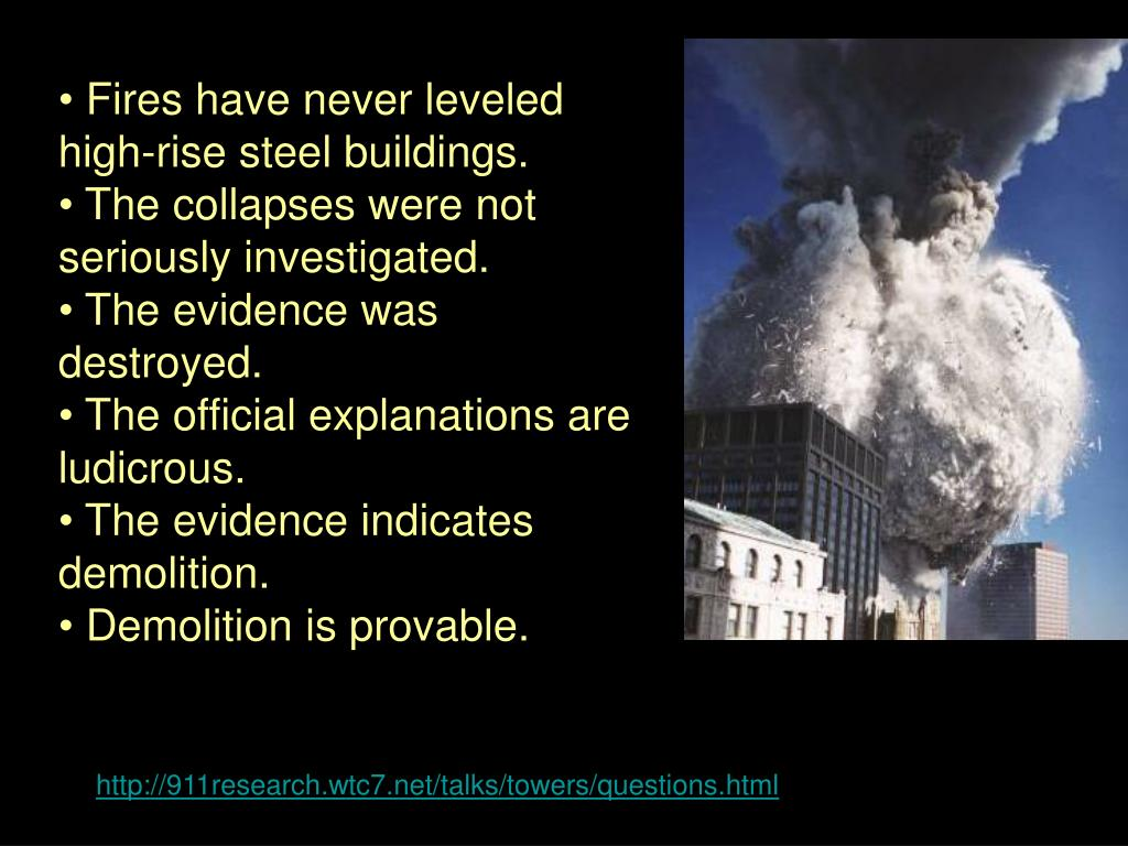 Fires have never leveled high-rise steel buildings.