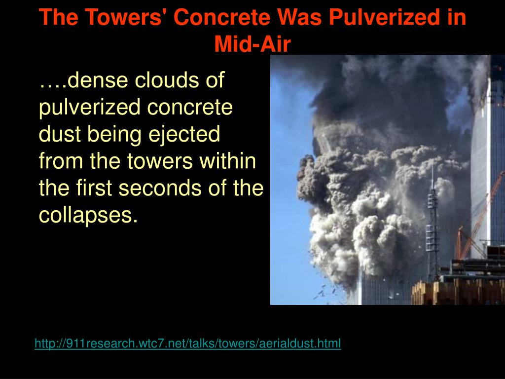 The Towers' Concrete Was Pulverized in Mid-Air