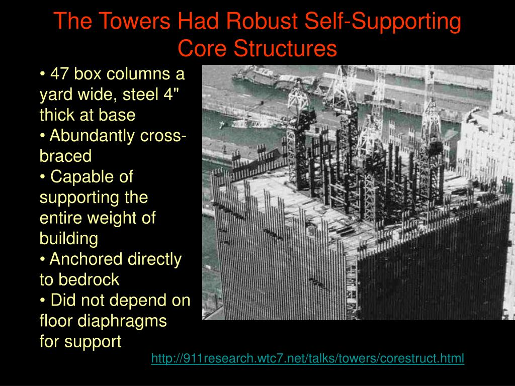 The Towers Had Robust Self-Supporting Core Structures