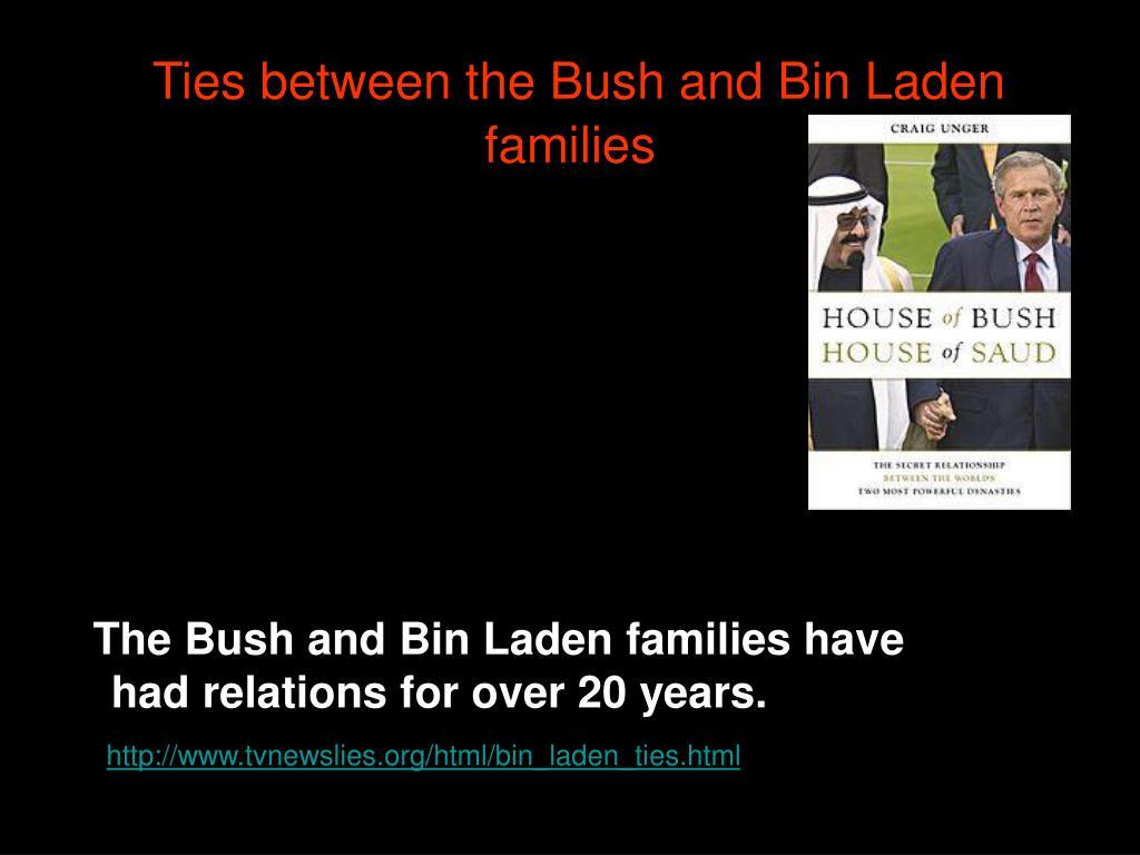 Ties between the Bush and Bin Laden families