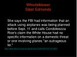 whistleblower sibel edmonds