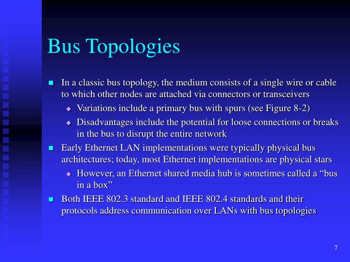 Bus Topologies