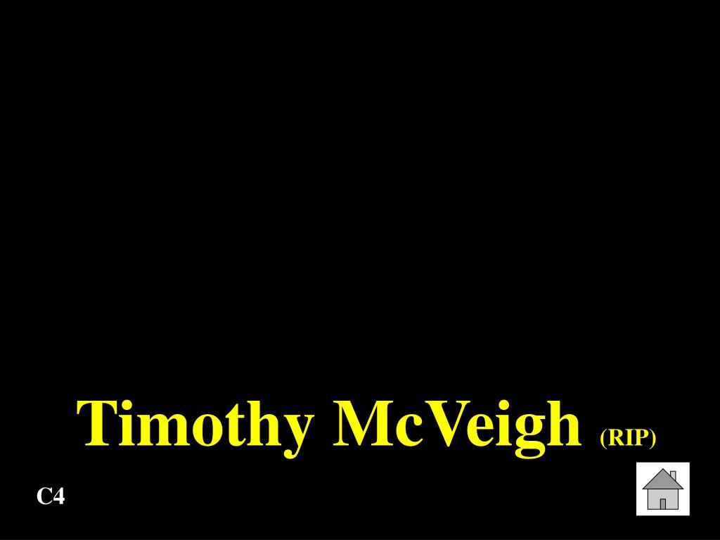 Timothy McVeigh