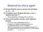 generative story again