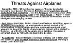 threats against airplanes12