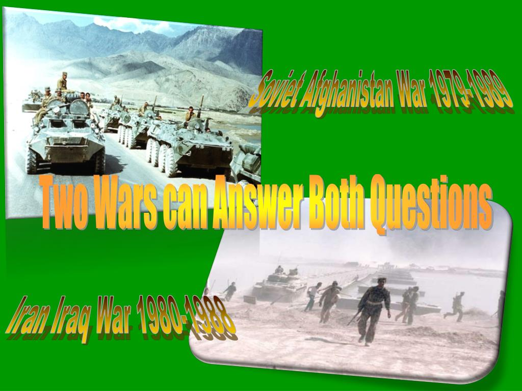 Soviet Afghanistan War 1979-1989