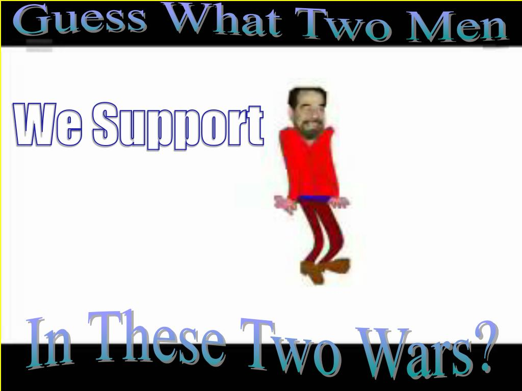 Guess What Two Men