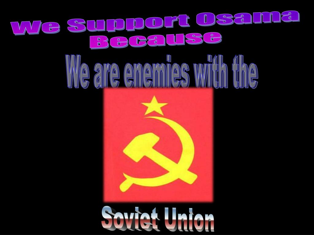 We Support Osama