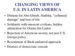 changing views of u s in latin america