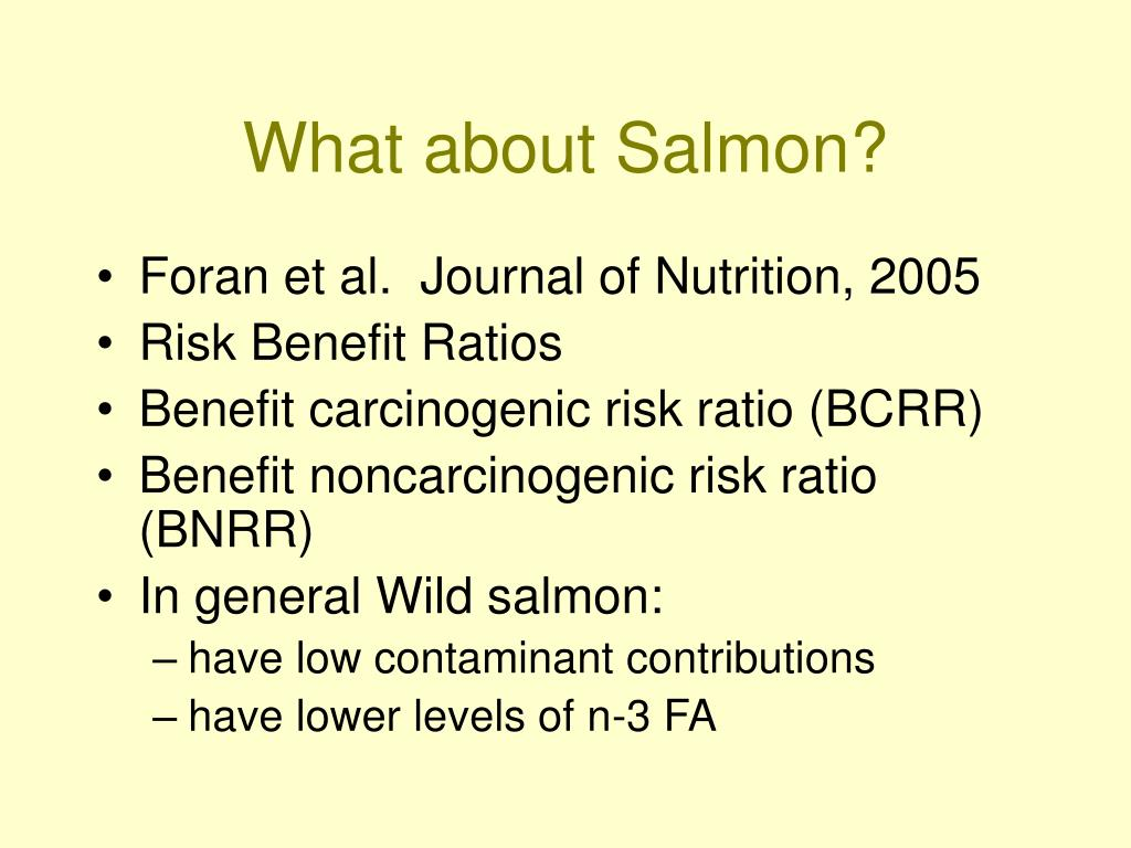 What about Salmon?