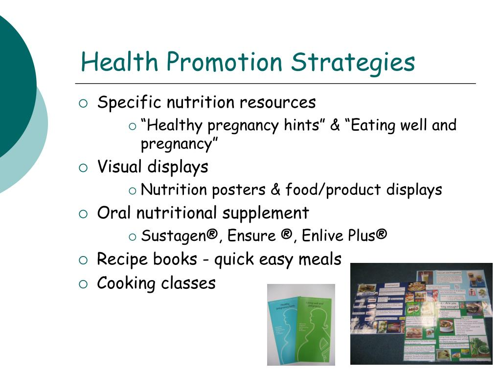 Health Promotion Strategies