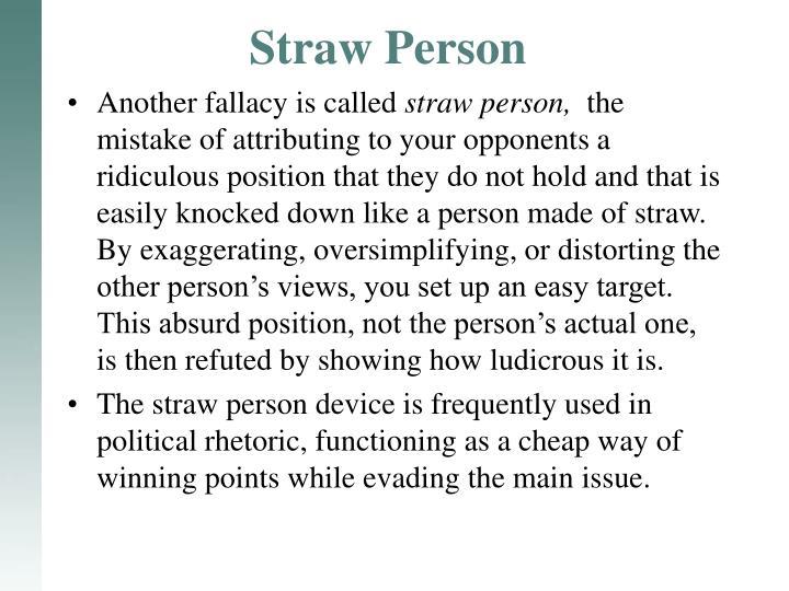 Straw Person