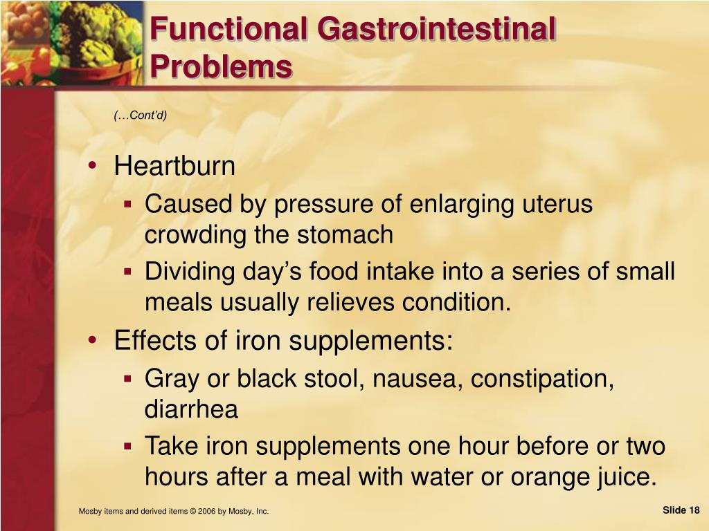 Functional Gastrointestinal Problems