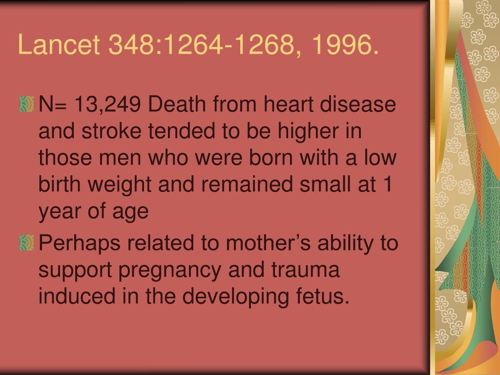 Lancet 348:1264-1268, 1996.