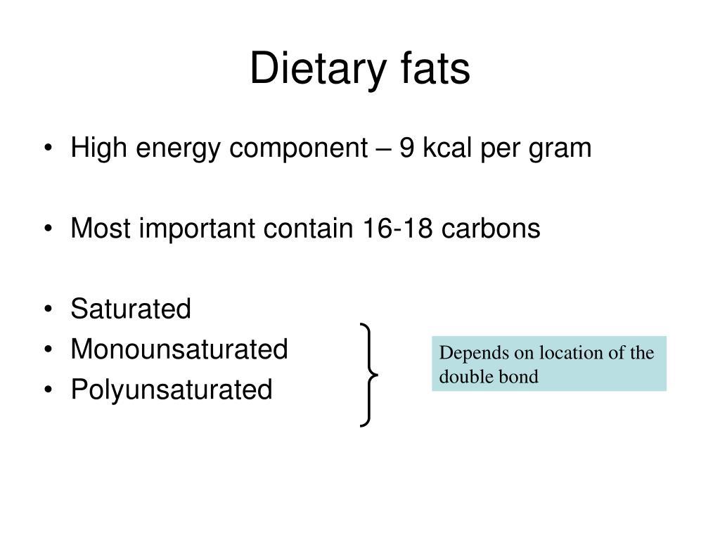 Dietary fats