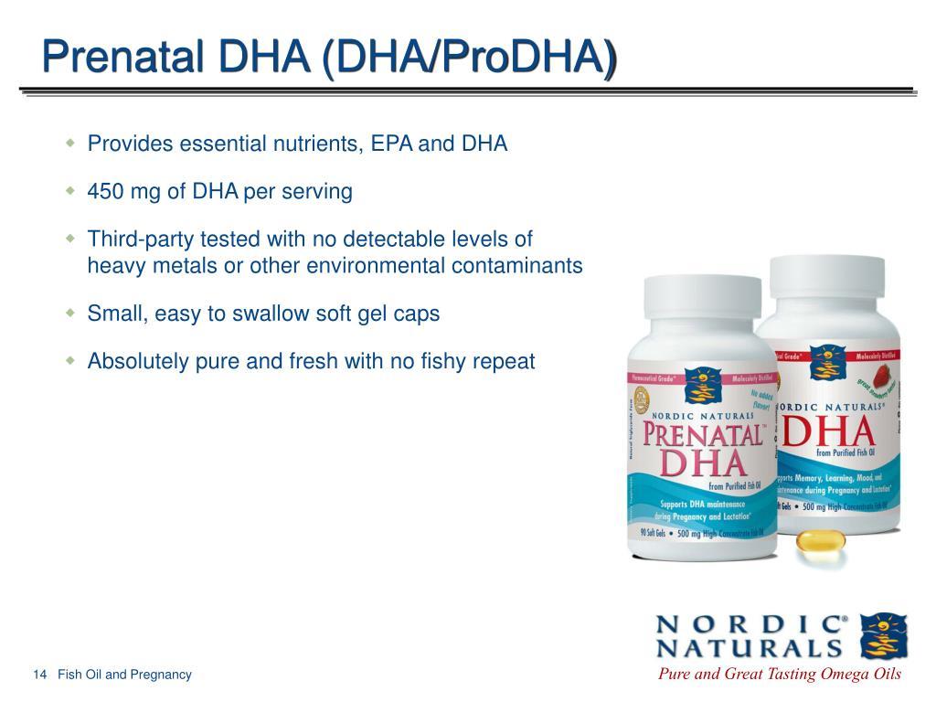 Prenatal DHA (DHA/ProDHA)