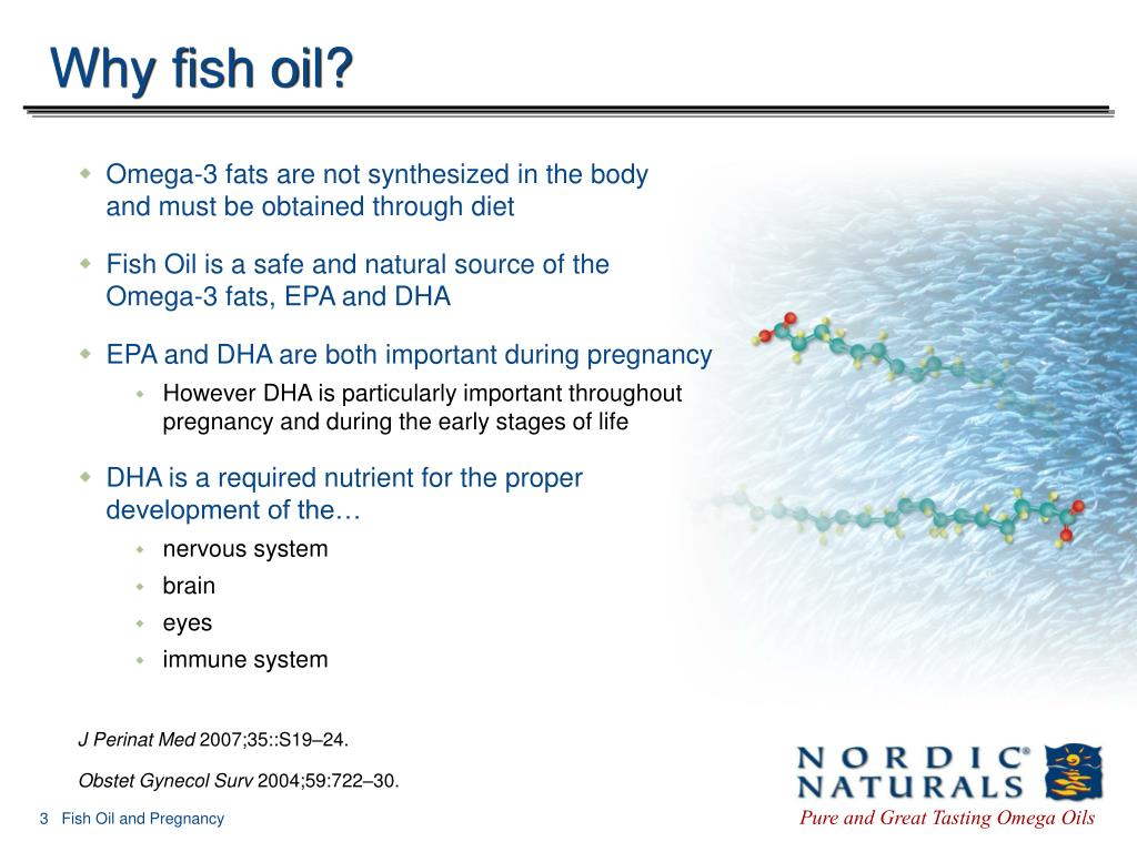 Why fish oil?