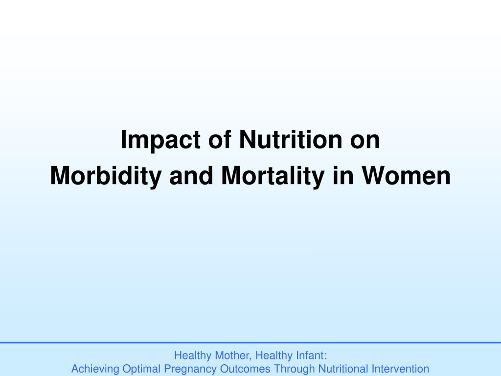 Impact of Nutrition on