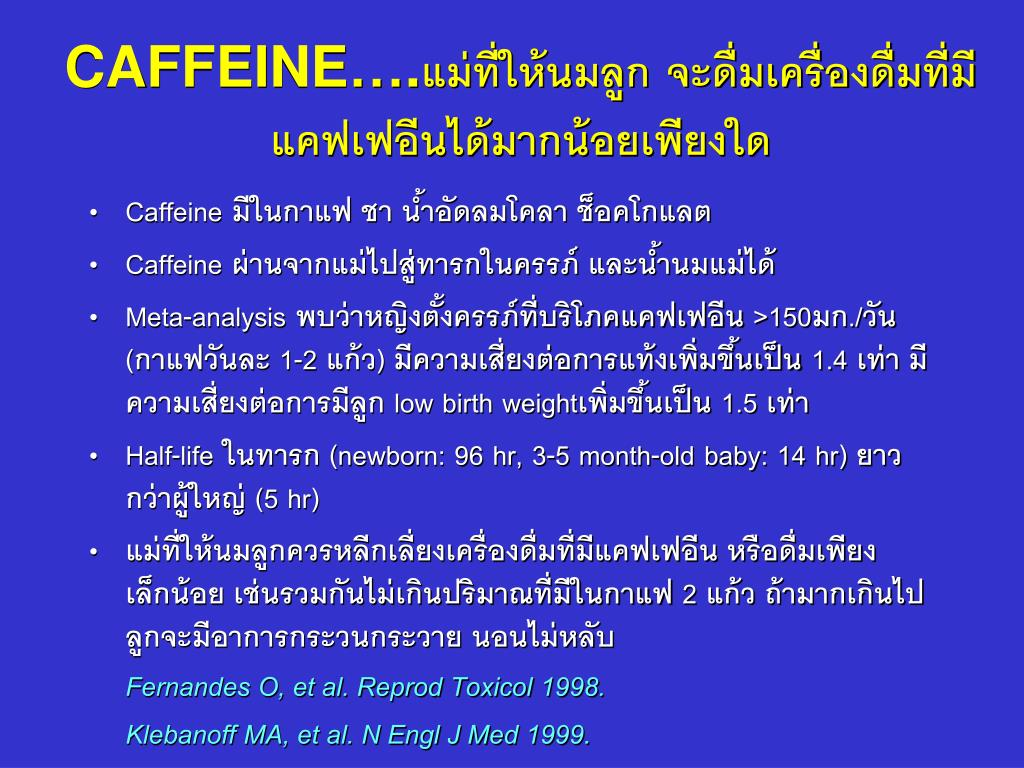 CAFFEINE….