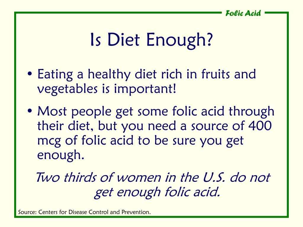 Is Diet Enough?