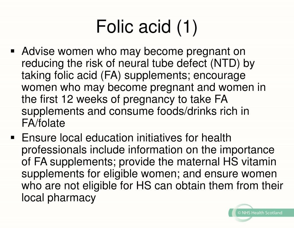 Folic acid (1)