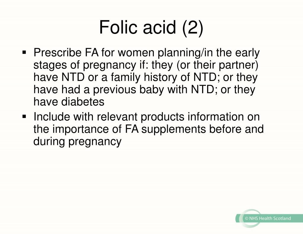 Folic acid (2)