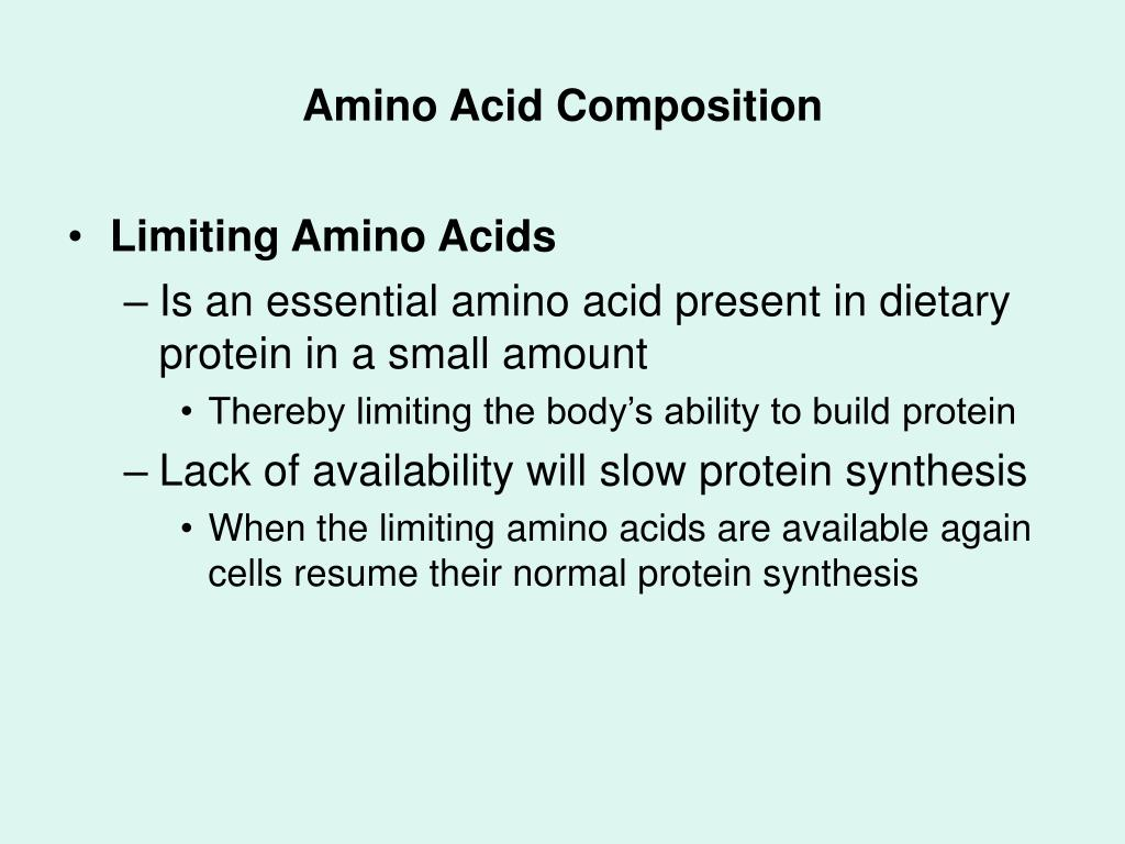 Amino Acid Composition