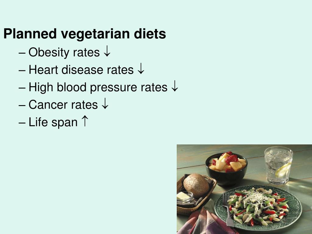 Planned vegetarian diets