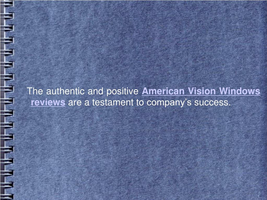 The authentic and positive