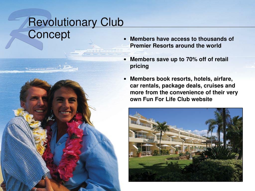 Revolutionary Club Concept