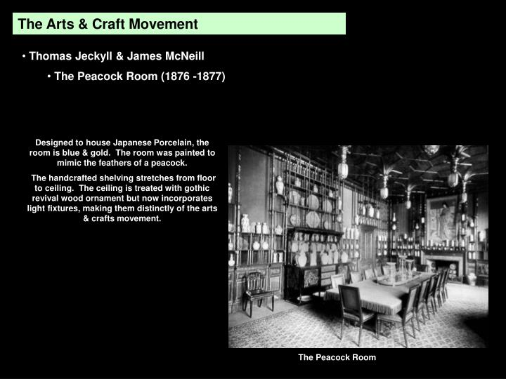 The Arts & Craft Movement