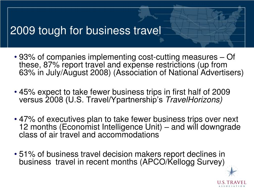 2009 tough for business travel
