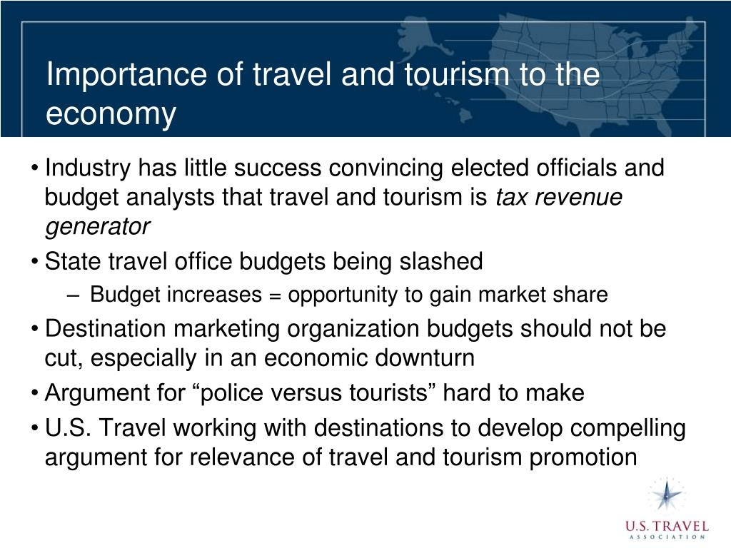 Importance of travel and tourism to the economy