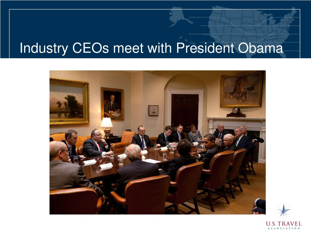 Industry CEOs meet with President Obama
