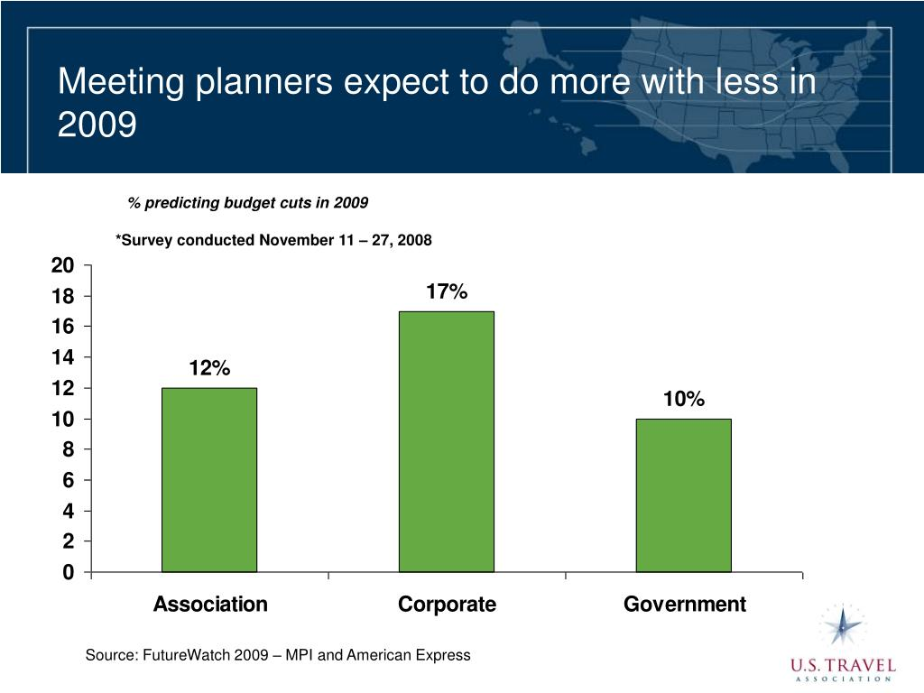 Meeting planners expect to do more with less in 2009