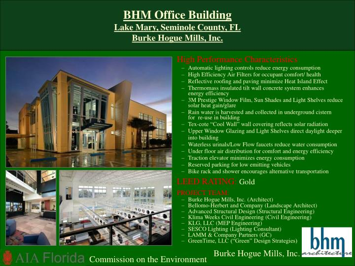 BHM Office Building