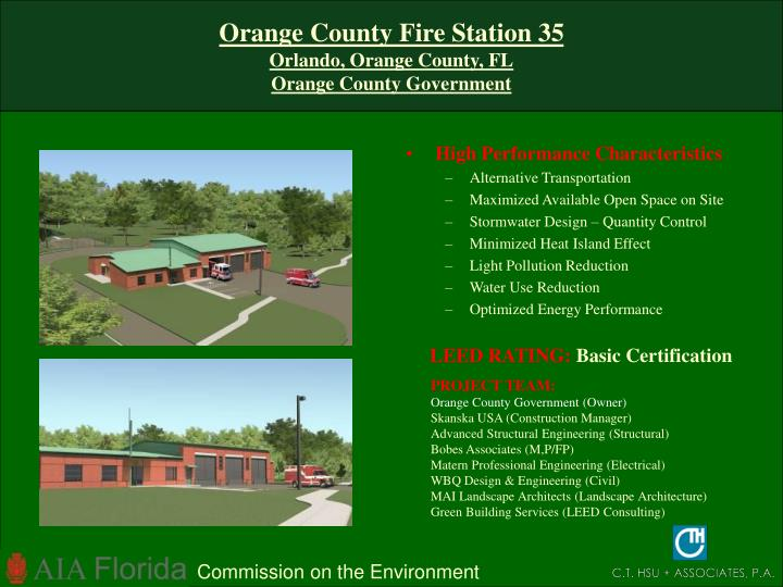 Orange County Fire Station 35