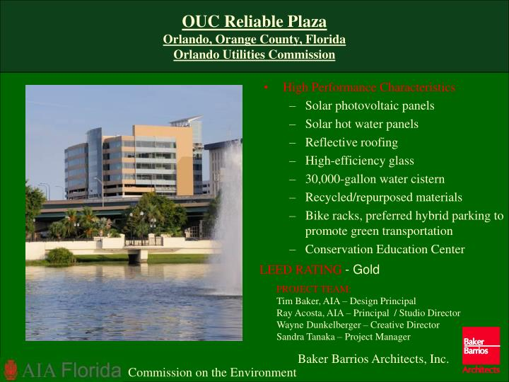 Ouc reliable plaza orlando orange county florida orlando utilities commission