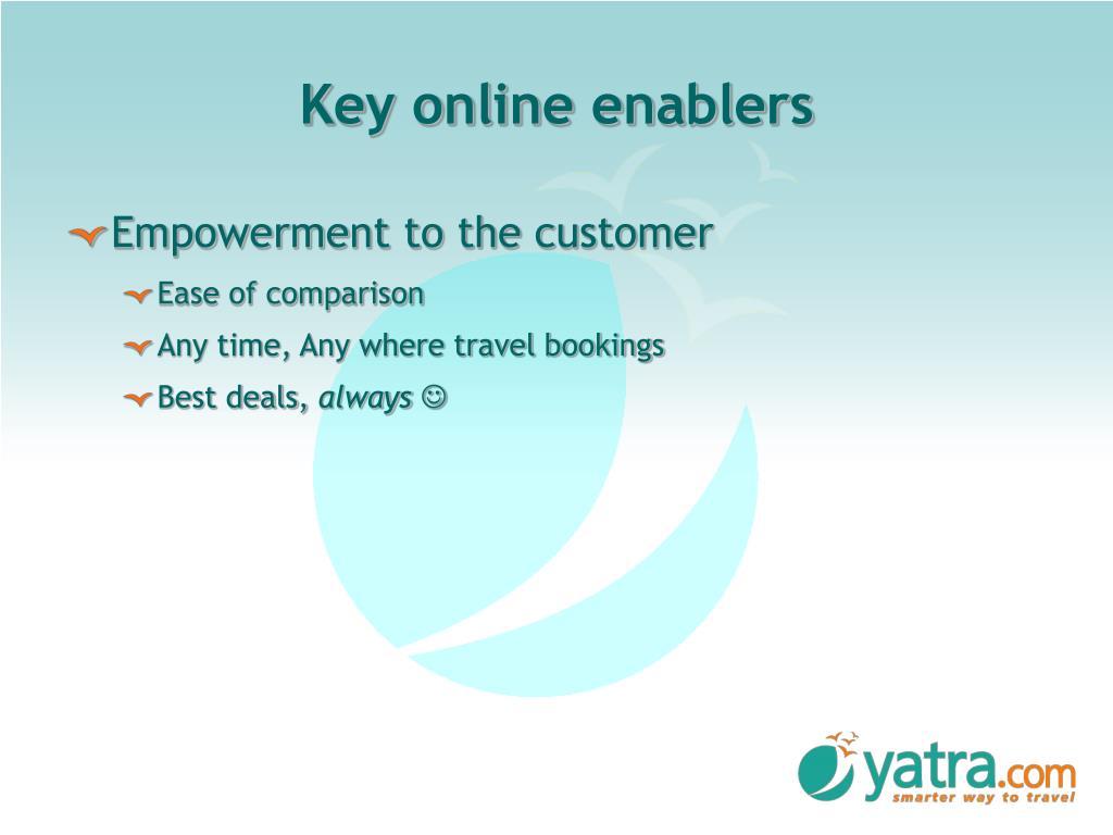 Key online enablers