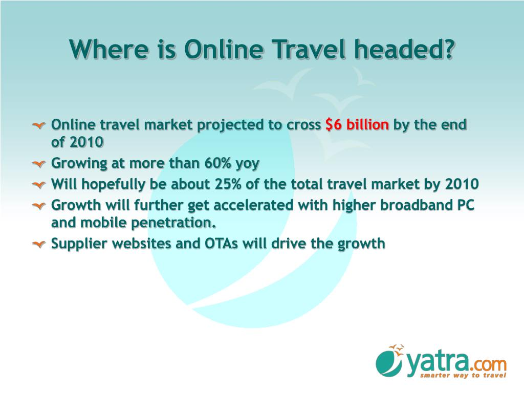 Where is Online Travel headed?