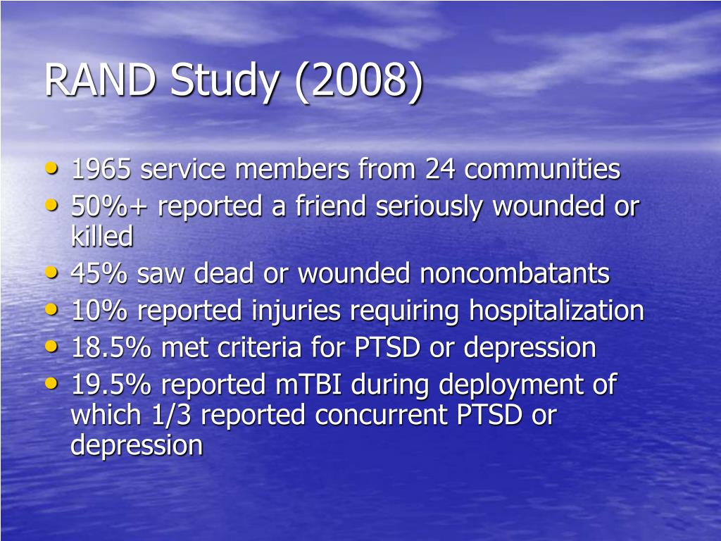 RAND Study (2008)