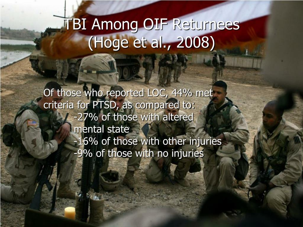 TBI Among OIF Returnees