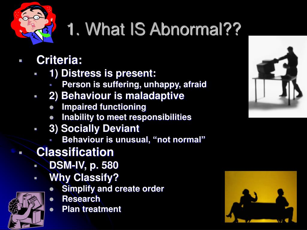 1. What IS Abnormal??