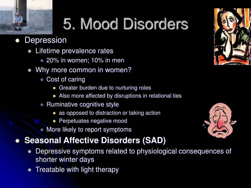 5. Mood Disorders