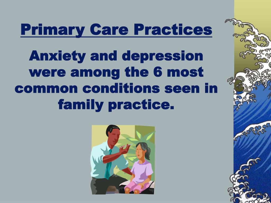 Primary Care Practices