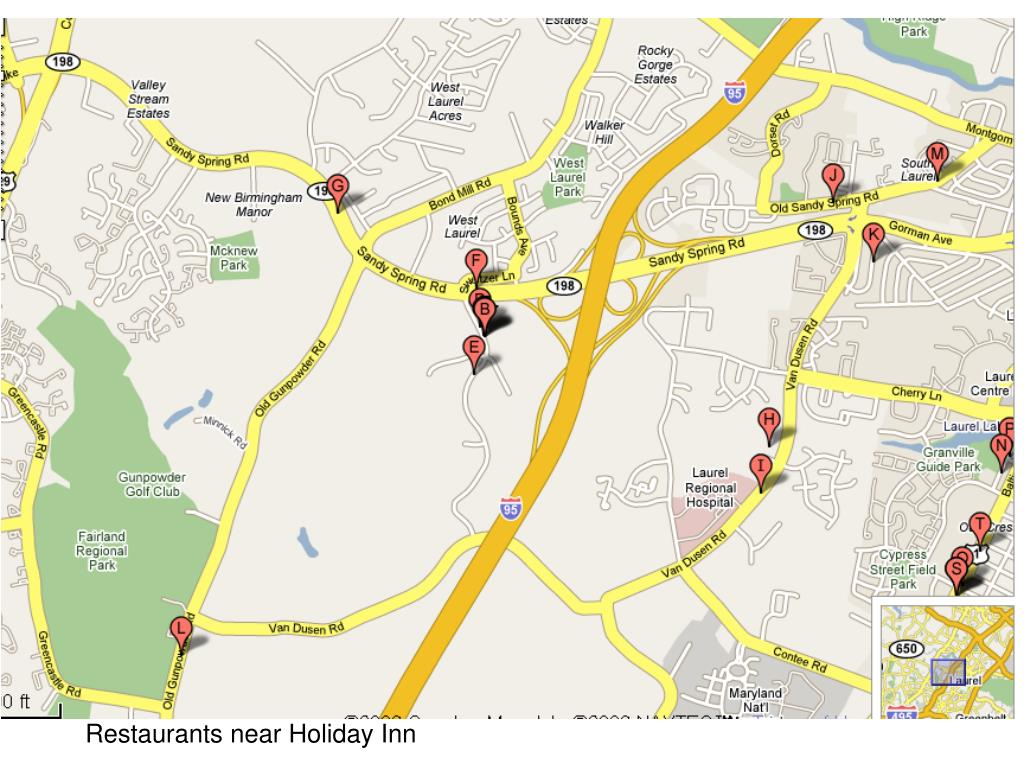 Restaurants near Holiday Inn