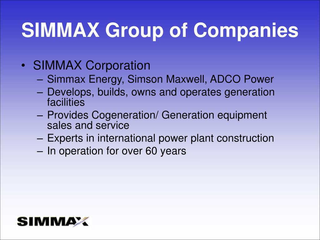 SIMMAX Group of Companies
