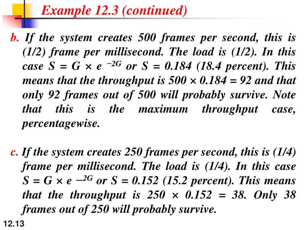 Example 12.3 (continued)