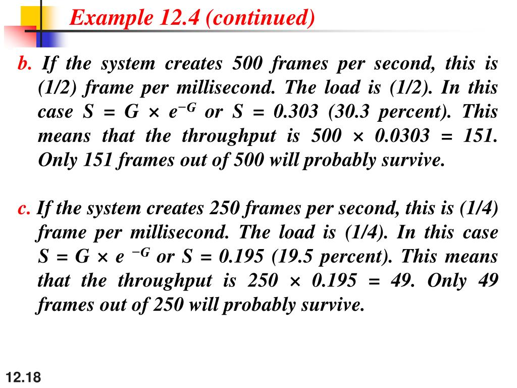 Example 12.4 (continued)